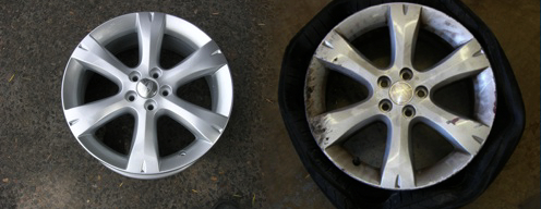 Wheel Centre Repairs Sydney - Before and After